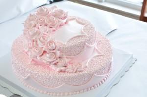 双层结婚蛋糕