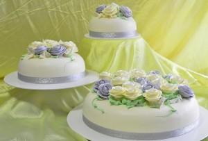 cake_三层结婚蛋糕