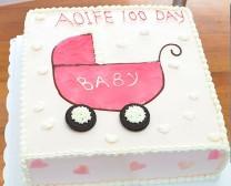 cake_婴儿车
