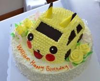 cake_比卡丘车