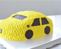 cake_黄色奥迪