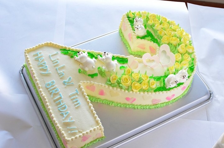cake_2字造型