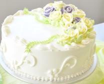 C009 - 花卉蛋糕