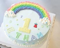 1 岁彩虹蛋糕