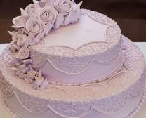 双层紫色玫瑰