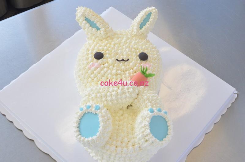 蓝耳朵小兔子