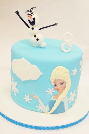 翻糖蛋糕-Disney Frozen-冰雪奇缘